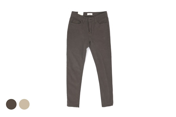 f/w basic chino pants